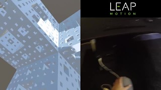 Leap Motion Orion: Pinch Move Module