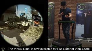 Virtuix Omni - Battlefield 4
