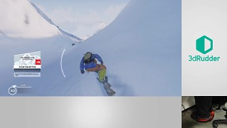 Level up Steep Snowboarding with a foot controller