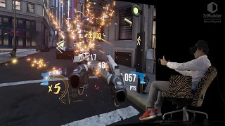 Robo Recall played with the 3dRudder