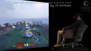 Unleash Dota 2 VRHub with the 3dRudder