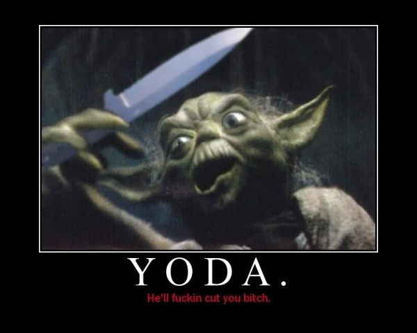 Cut You He Will!