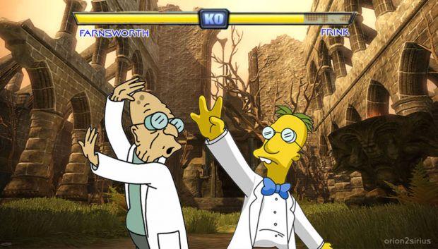 Farnsworth -V- Frink... FIGHT!