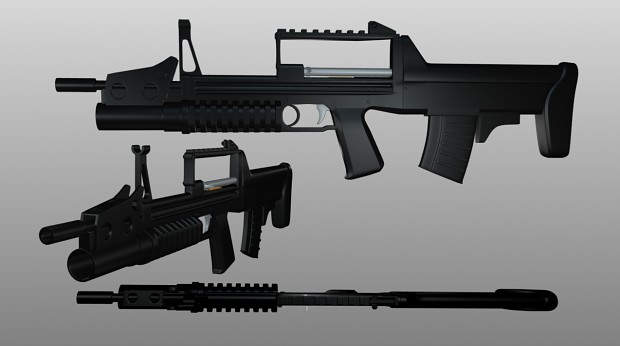 ADS Rifle Render