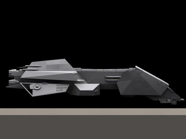 Interceptor Frigate, Left side