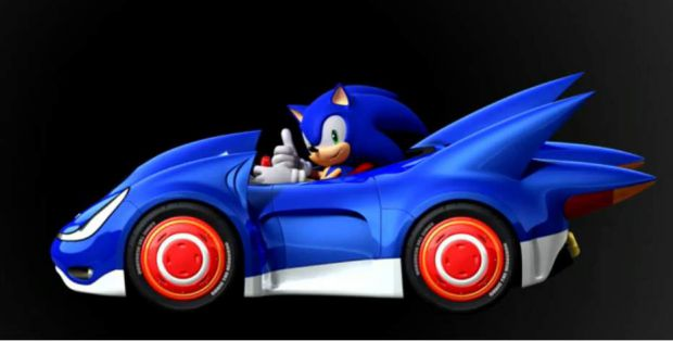 Sonic & SEGA All-Stars Racing...LOL !