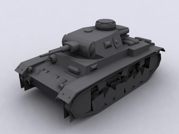 Panzer III Ausf. J / J1
