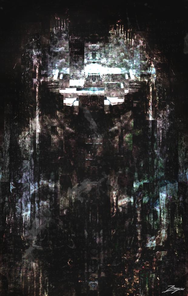 Abstract Portrait (Elliot Alderson)