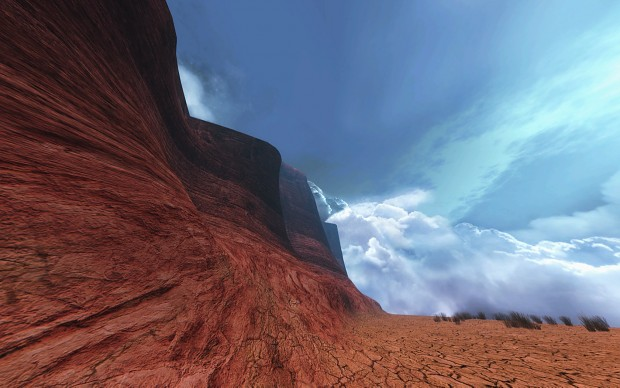 Canyon - Texture tests