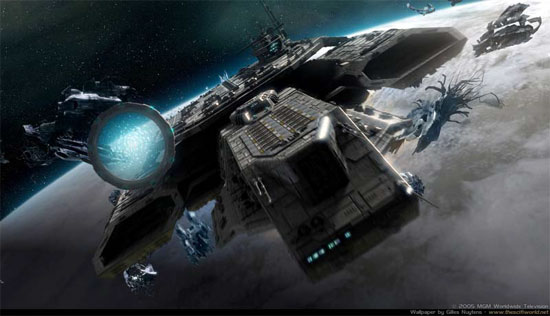 stargate universe first picture to be released