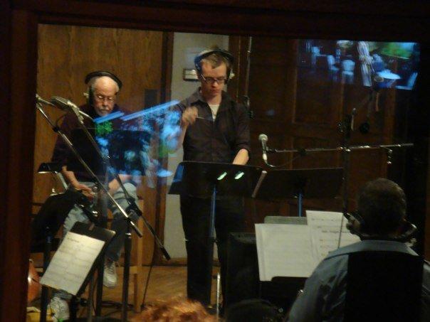 Conducting at The Village Recorder