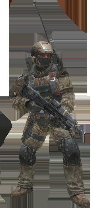 UNSC Army Regular - Render