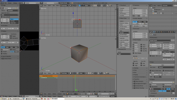 My Blender Interface Settings