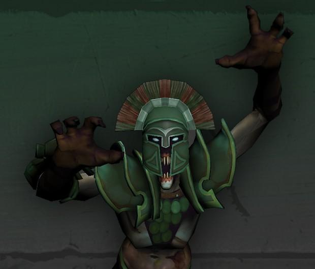 Undying Lysander Helmet for Dota 2 game