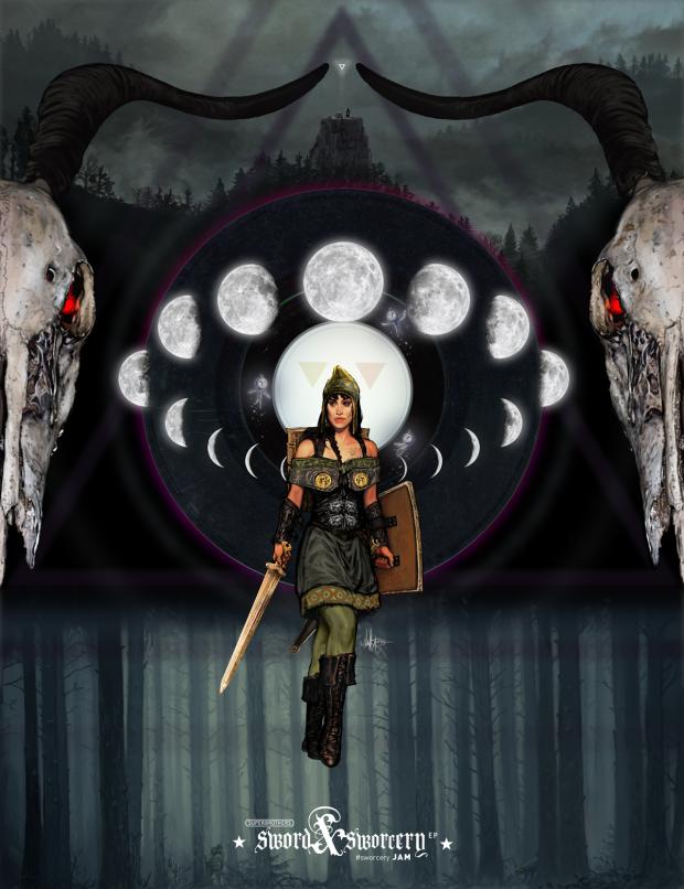 sword and sworcery fan art