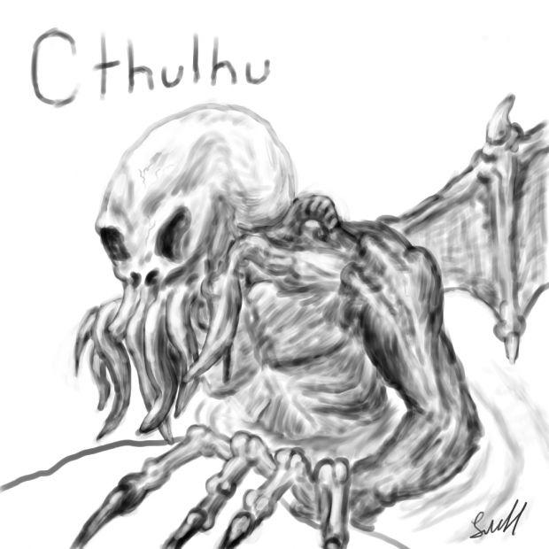 Cthulhu conceptual art