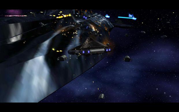 Al'kesh and PJs attack a Hive Ship