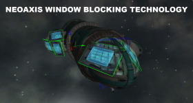 NeoAxis Engine Window Blocking Technology