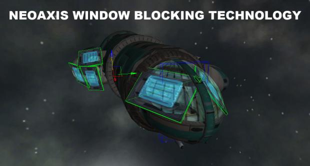 NeoAxis Engine Window Blocking Technology