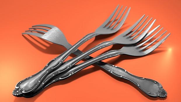 fork render made in ... Blender :D