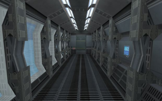 Example for a hallway