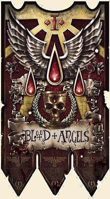 Blood Angels Banner