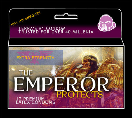 The Emperor Protects :)