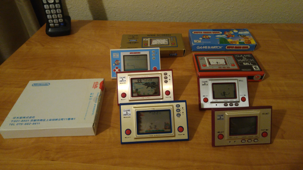 Game & Watch Collection 7/14/16