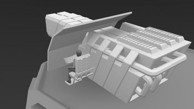 Sci-Fi Turret