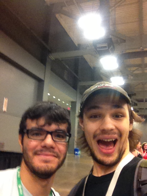 My photo with Ray (Brownman)