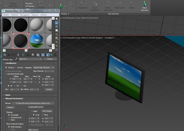 Simple Desktop Monitor
