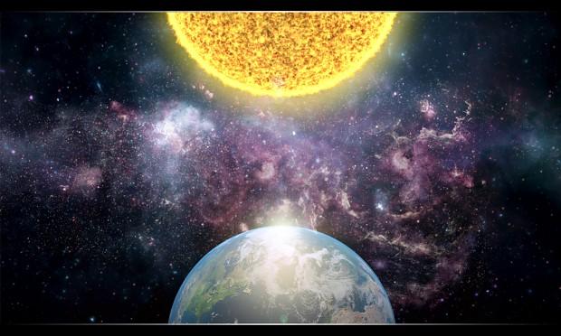 Final Sun and Earth