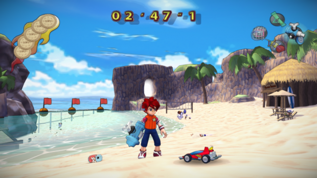 Emulated Ape Escape 2 with Shaders at 1080p