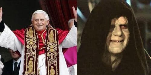 Pope Vs. Palpatine