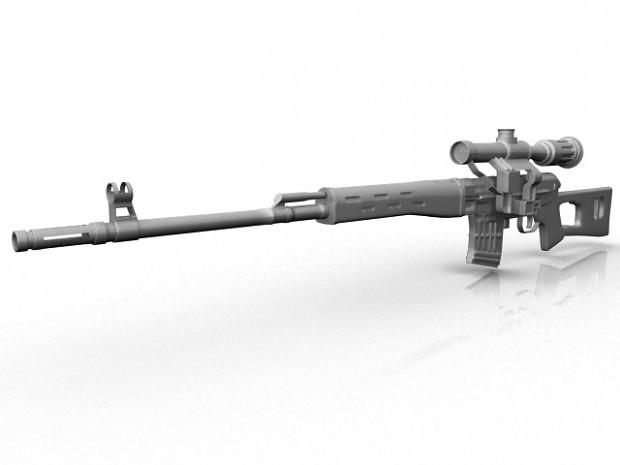 Dragonov Sniper Rifle