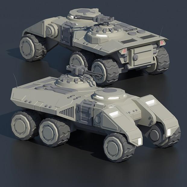 C&C3; Tiberium Wars GDI Guardian APC
