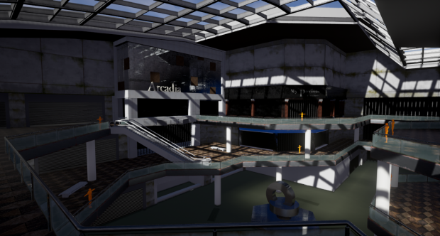 Abandoned Mall WIP