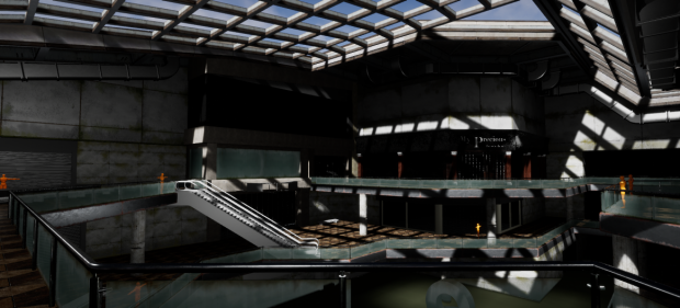 Abandoned Mall UE4