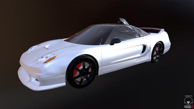 NSX Type R GT PBR WIP