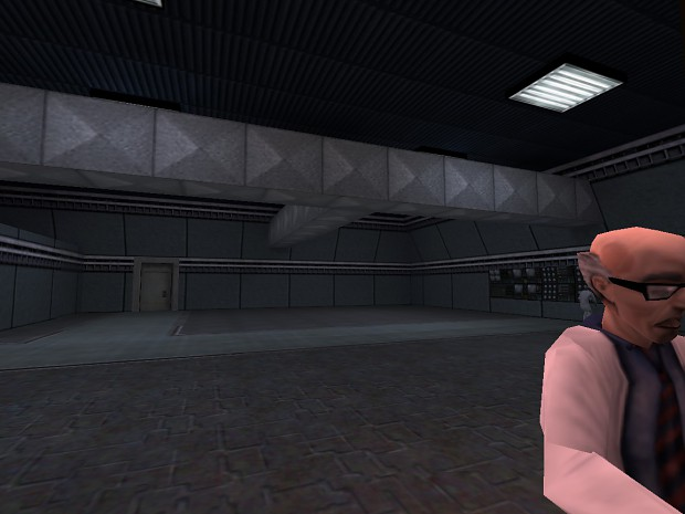 A HL1 Map I'm working on