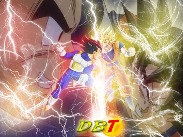 Goku vs Vegeta(800x600...)