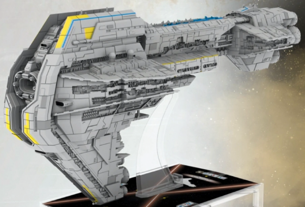 FINALLY a canon design for the Starhawk!