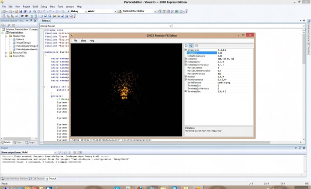 C&C3 FX Particle System Editor