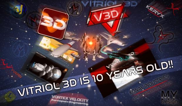 VITRIOL 3D Is 10 Years Old