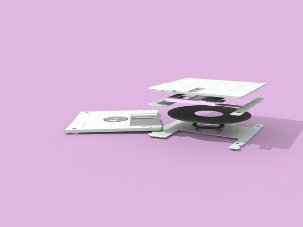 floppy ( editable spline )