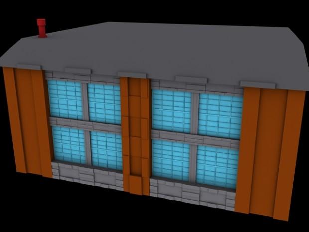 3d building ( modular method )