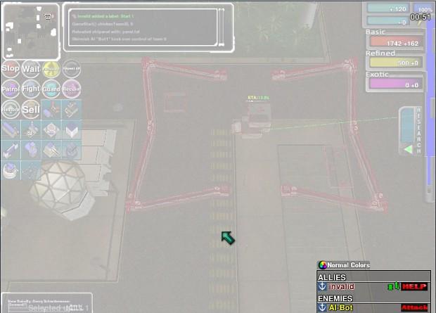 Gundam RTS white screen