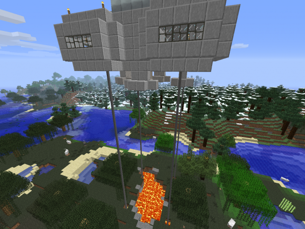 Chickens and UFOs