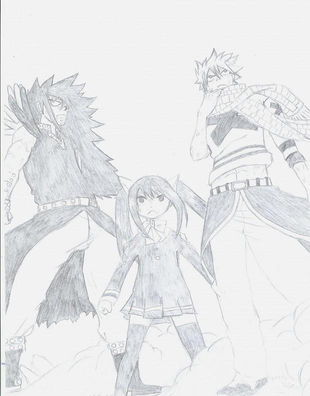 Dragon Slayers drawing