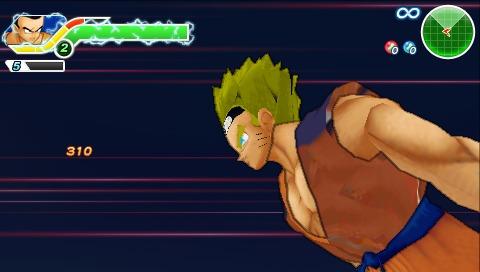 Naruto on Dragonball Tenkaichi Tag Team